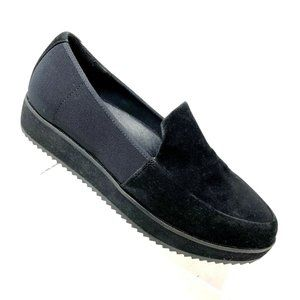 Eileen Fisher Dell Loafer Suede Elastic Size 6.5